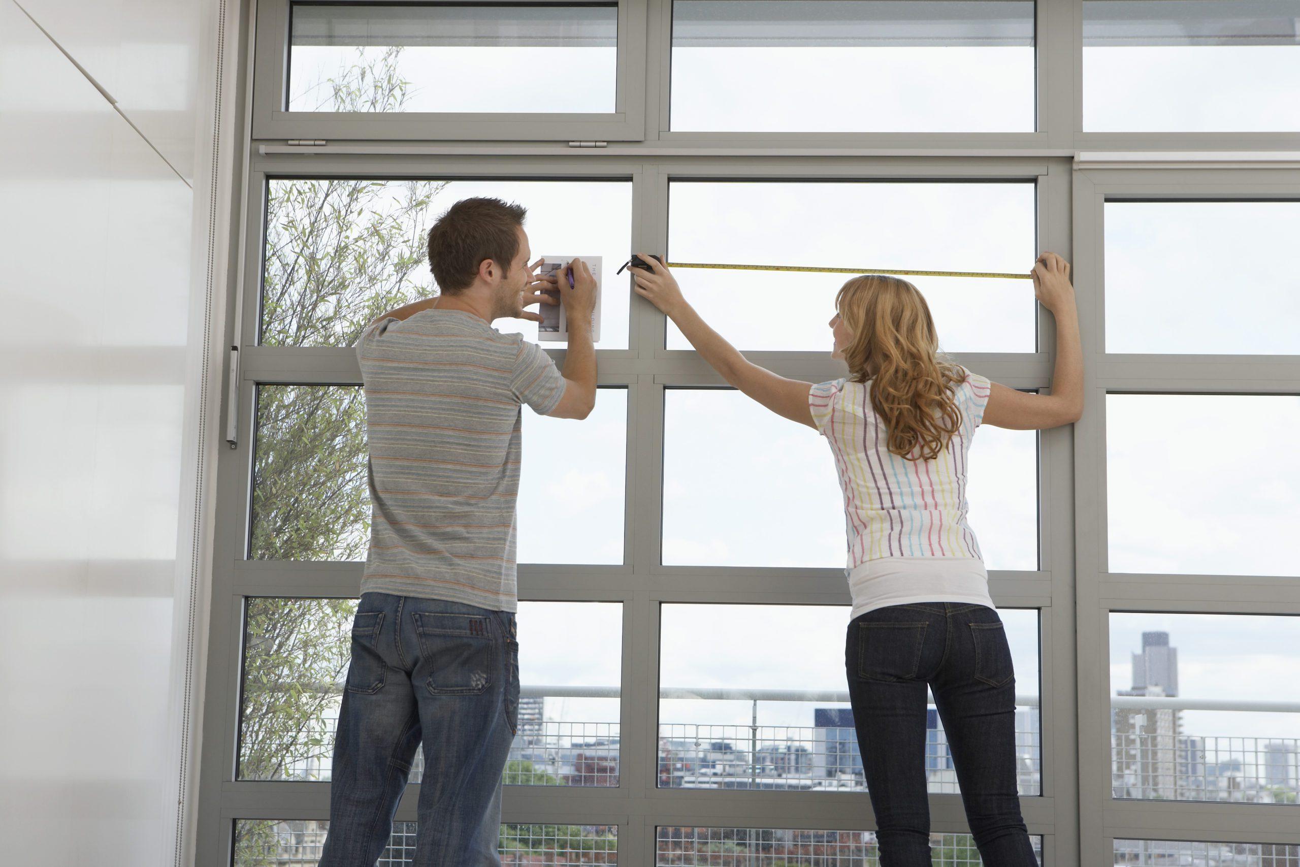 DIY window tint